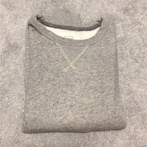 Men's J. Crew Grey Sweatshirt Size S